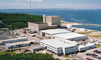 Plymouth nuclear power plant, Mass