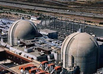 San Clemente nuclear power plant, CA